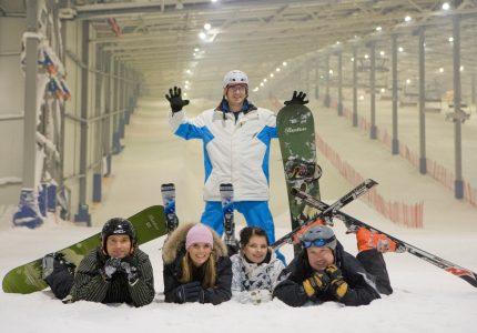 Saisonauftakt Skihalle Wittenburg