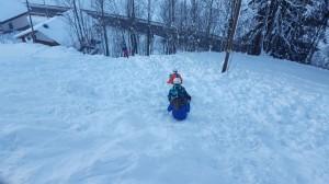 Weg zum Skifahren1