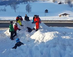 Weg zum Skifahren2